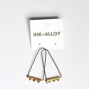 NEW🌟 Ink + Alloy brand earrings